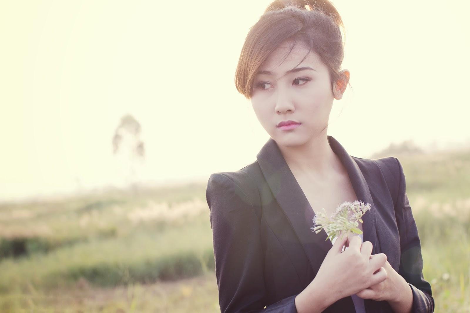 girls desktop wallpaper Asian